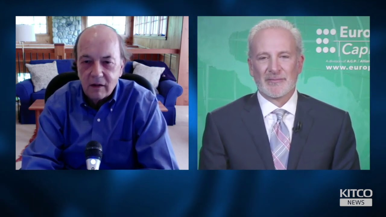 Jim Rickards & Peter Schiff on the coming monetary collapse