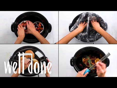 5 Genius Slow Cooker Hacks: Warm Up Your Buns Or Only Cook For Two | Food Hacks | Well Done
