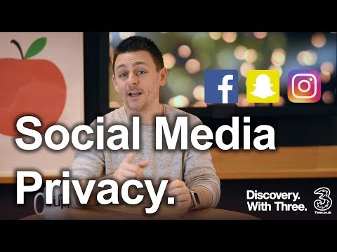 Social Media Privacy   Who can see your posts?   Discovery with Three
