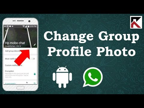 How To Change Profile Picture Of A Group Conversation On WhatsApp Android