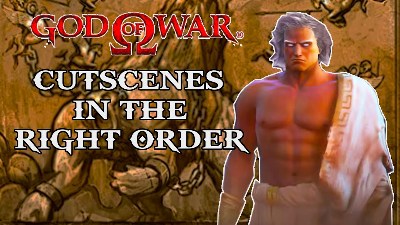 God of War Greek Saga from Beginning to End