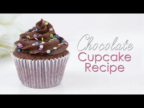 Chocolate Cupcake & Chocolate Buttercream Recipe