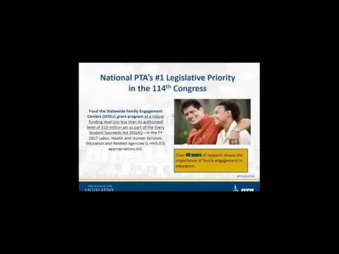 National PTA's 2016 Public Policy Agenda