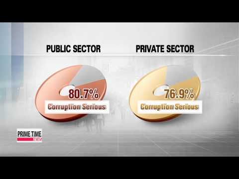 93% of S. Koreans find corruption to be a serious problem