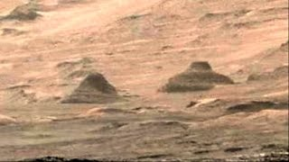Twin Pyramids Discovered on Mars by NASA