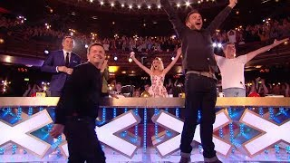 The First Golden Buzzer Britain