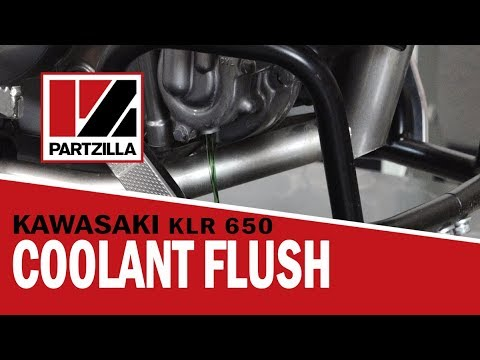 KLR 650 Coolant Flush | Partzilla.com