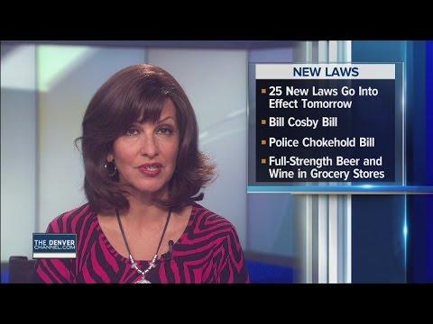 25 new laws go into effect in Colorado