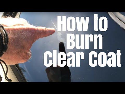 Car Polishing: How to burn clear coat