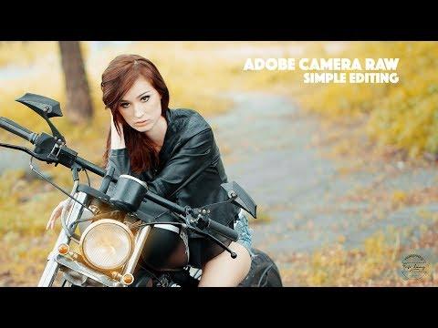 Photoshop CC Tutorial | Simple Editing With Adobe Camera RAW