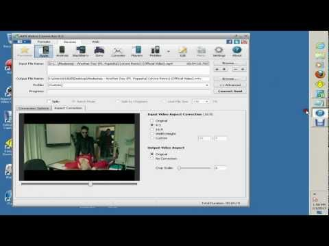 Jus4Fuk- How To Convert iPhone 3g/3gs/4g/4s /iPod Touch Movies BEST SETTINGS!