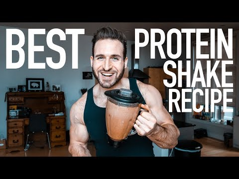 HOW TO MAKE A PROTEIN SHAKE | BEST CHOCOLATE PROTEIN SHAKE RECIPE