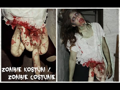 Halloween Month: #6  DIY: Zombie Kostüm / Zombie Costume