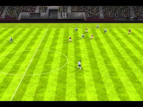 FIFA 14 iPhone/iPad - Inglaterra vs. Dinamarca