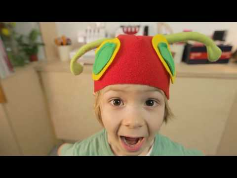 Family Crafts: How to make a Hungry Caterpillar costume