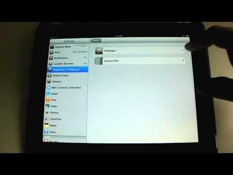 Using iPad Settings - An iPad Mini Tutorial