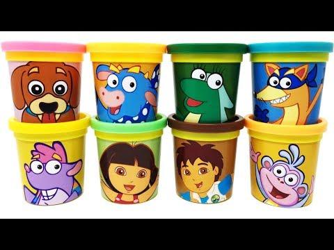 Download Dora the Explorer Play-Doh Surprise Toys Dora Diego