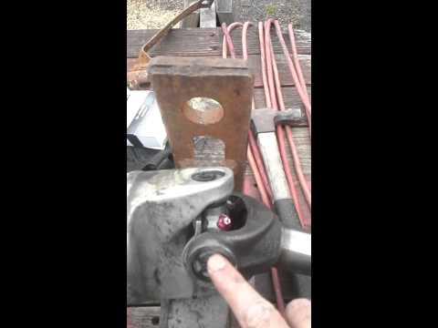 Universal joint repair, 2002 Chevy Suburban. Learn