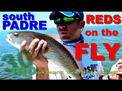 FLY FISHING REDFISH South Padre Island, Texas