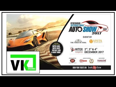 Auto Show  2017 Hyderabad Pat-1(Cars)