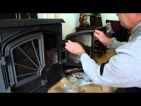 How to Clean Wood Burner Glass Easily on Log / Wood / Multi Fuel Stove / Room Heater.