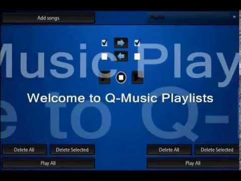 Q-Music Playlists