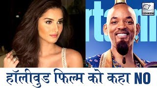 Download Why Tara Sutaria Rejected Hollywood Movie 'Alladin & Shahid's 'Kabir Singh' | LehrenTV Video