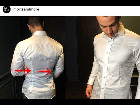 Mens Shirt Darts - Can A Slim Fitted Shirt Be Made Without Them? (Mens fashion dilemmas)