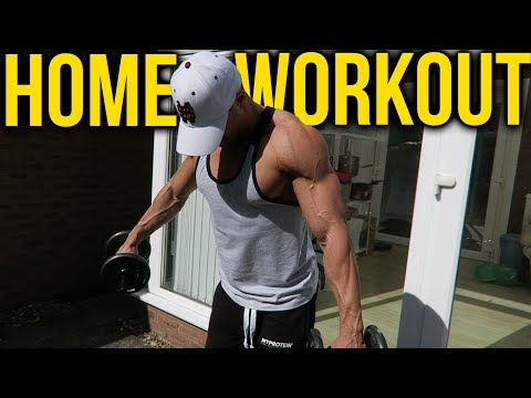 Muscle Building HOME WORKOUT (full body)