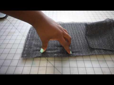 how to make a non slip petal mat