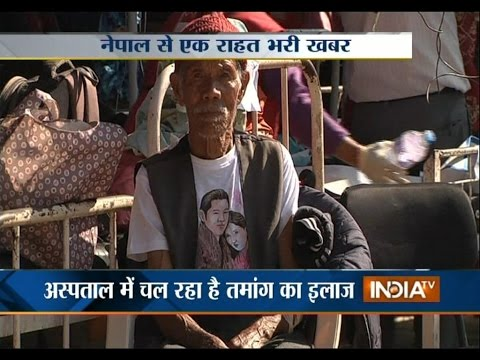 Xxx Mp4 Miracle 101 Year Old Man Rescued After A Week From Rubble India TV 3gp Sex