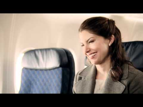 American Airlines on board WiFi commercial