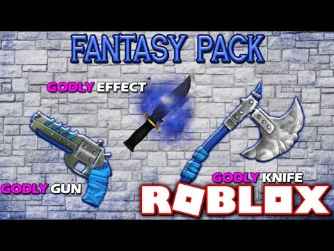 BUYING THE NEW FANTASY GODLY PACK!! *LIMITED!* (Roblox Murder Mystery X)