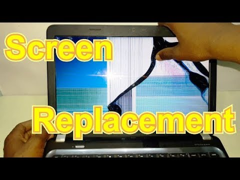 HP Pavilion g4 screen replacement in hindi