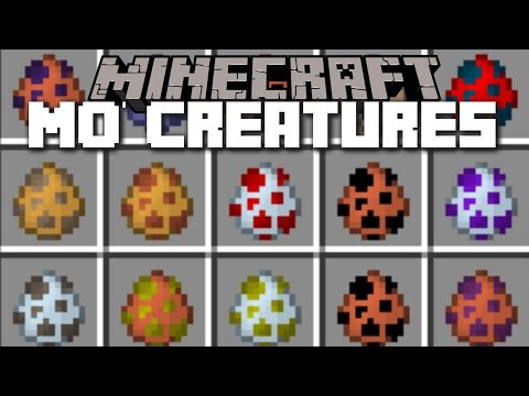 Minecraft MO' CREATURES MOD / SPAWN PLENTY OF NEW ANIMALS IN MINECRAFT!!