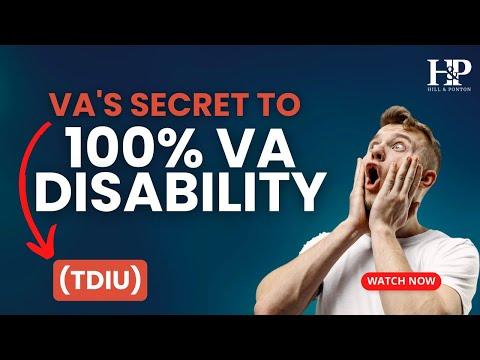 VA Compensation Benefits Unemployability or IU