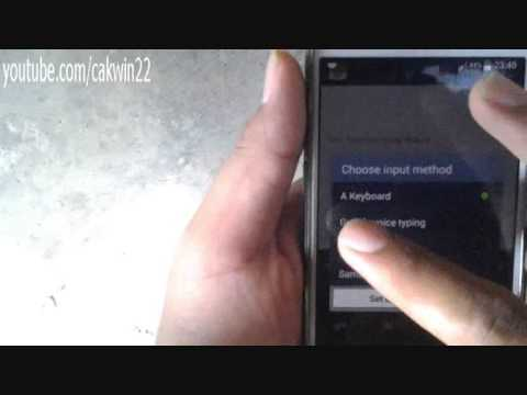 Samsung Galaxy S4: How to Change Keyboard (Android Kitkat)
