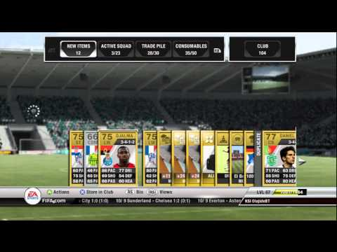 FIFA 12 | Ultimate Team | Large Pack Opening with a surprise!!