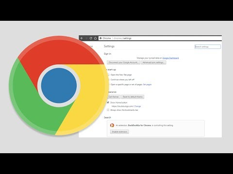 How to Change the Chrome Settings Menu Back to its Previous Layout.
