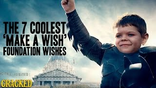 The 7 Coolest 'Make A Wish' Foundation Wishes