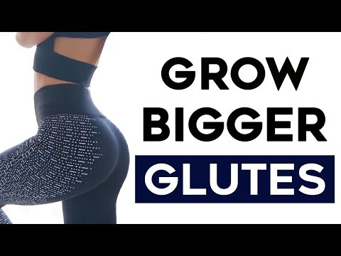 Bigger Butt Workout: 4 Exercises To GROW Bigger Booty Fast!