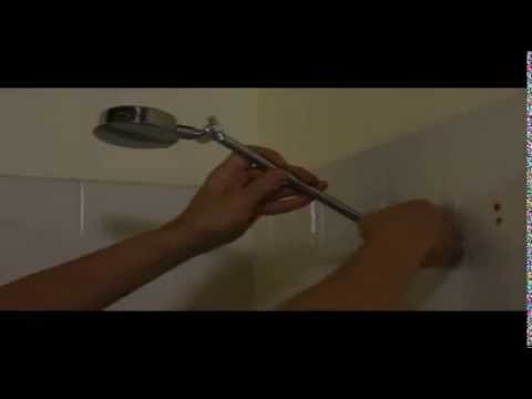 How to Replace a Shower Rose / Shower Head - Step by Step Instructions - DIY - Tutorial