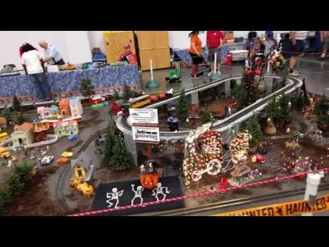 2016 Virginia Beach Train Show - G Gauge Layout