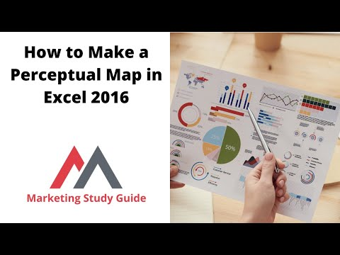 How to Make a Perceptual Map in Excel 2016