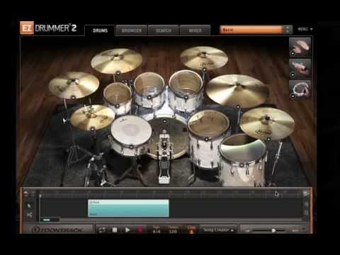 EZ DRUMMER 2 Tip: Create Custom Beats Starting w/ a Kick Drum