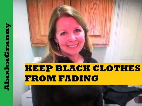 How To Keep Black Clothes From Fading