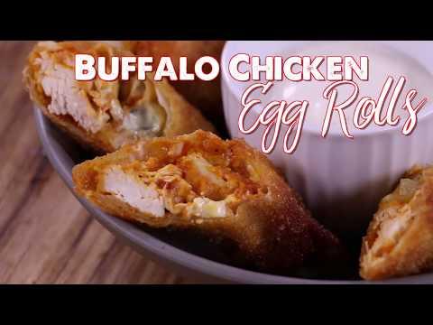 How to make Fried Buffalo Egg Rolls