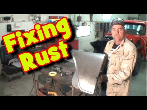 HOW TO: Repair A Rusted Fender-On A Car Or Truck-Part 1