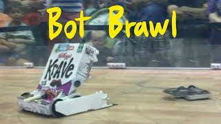 Cereal Box BattleBot: the path to Victory!  (2016 BotBrawl)