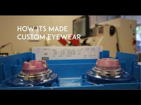 How Lenses for Custom Prescription Eye Glasses Are Made | The Jervey Eye Group